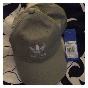 Adidas hat color is grey brand new